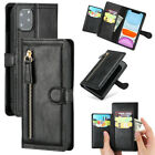 For Iphone 11 Pro Xs 7 8 Leather Wallet Flip Slot Card Zipper Phone Case Cover