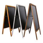 Wood Frame Cafe Restaurant Bar Sidewalk Chalkboard Easel Menu Wedding Sign Board
