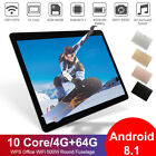 10.1'' Android 9.0 Game Tablet Computer 8g Ram + 512g Rom Wifi Camera Kids Gifts