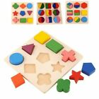 Kyпить Kids Educational Puzzle Sets Wooden Geometry Wood Toys Baby Kids Early Learning на еВаy.соm