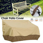 3size Waterproof High Back Chair Cover Outdoor Patio Garden Furniture Protection