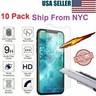 10-Pack iPhone 11 Pro 6+ 7 8 Plus X Xs Max XR Tempered GLASS Screen Protector