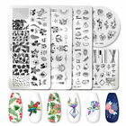 PICT YOU Nail Stamping Plates Stainless Steel Nail Art Fruit Leaves Templates