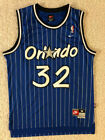 Kyпить NEW Shaquille Shaq O'Neal #32 Men's NBA Throwback Orlando Magic BLUE Jersey на еВаy.соm