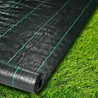10-200M Weed Control Fabric Landscape Ground Cover Membrane Garden 1-5m Width