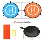 Folding Helipad Helicopter Landing Pad RC Drone Landing Mat Unmanned Aerial