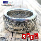 Kyпить Handmade Morgan Silver Dollar Coin Ring 'eagle' Silver Plated In Sizes 8-16 rare на еВаy.соm