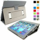Snugg iPad 2 (2011) Leather Case, Protective Flip Cover