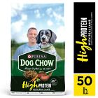 Purina Dog Chow High Protein Dry Dog Food, With Real Lamb & Beef Flavor, Adult