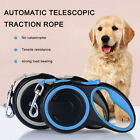 3/5/8m Retractable Dog Leads Pet Padded Extending Leash Tape Cord Max 50kg UK