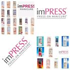 Kiss imPress Press-On Pedicure Nails Choose from Over 20 Pedicure Designs New