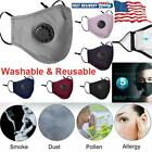 Face Mask Anti Dust Outdoor Protection Breathable Washable Reusable with valve