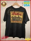 Vintage 80s Indian Motorcycle Company T-Shirt.Cool Graphic