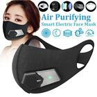 Smart Electric Cover Air Purifying Anti Dust Pollution Microfiber Mouth Cover*