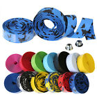 Handlebar Tape Bicycle Road Bike Cycling Long Grip Wrap Ribbon Tape & Bar Plug