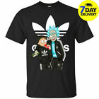 Funny Tee Rick And Morty Mashup Men's Graphic T-Shirt Tee Size S-6XL Funny HOT