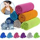 Ice Mesh Cooling Towel Instant Sports Fitness Gym Yoga Pilates Jogging Workout image