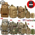 10L/35L/45L/80L Tactical Outdoor Military Trekking Backpacks Camping Hiking Bags