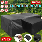 Furniture Cover Uv In/outdoor Garden Patio Table Shelter Chair Sofa Waterproof