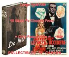 "DR. NO 1958 1st Ed JAMES BOND Italian=BOOK & 1962 MOVIE POSTER 10Sizes 14""-4.5FT $68.88 CAD on eBay"