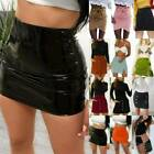 Womens High Waisted Mini Skirt Dress Party Summer Casual Short A-Line Skirts US