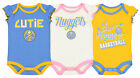 Outerstuff NBA Infant Girls Denver Nuggets Dribble Time 3 Pack Creeper Set on eBay