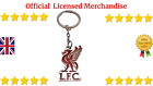 Liverpool Official Crest Key chain Keyring Official LIVERPOOL FC Metal KEYRING
