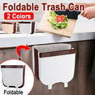 Wall Mounted Folding Hanging Trash Can Portable Kitchen Cabinet Door !!