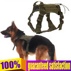 Tactical Dog Harness Nylon Training Vest with Handle for Midium or Large Dogs