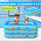 Large Swimming Pool Family Garden Kids Adults Summer Inflatable Paddling Pools