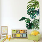Green Palm Leaves Tropical Wall Sticker Decals Vinyl Pvc Home Living Room Decor