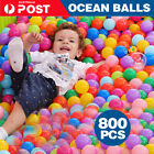 200pc Ball Pit Balls Play Kids Plastic Baby Ocean Soft Toy Colourful Playpen