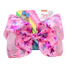 "8"" JOJO SIWA Rainbow  beauty unicorn hair bows with clip girls kids bowknot gift"