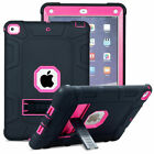 For Apple iPad Mini 12345 Kid Safe Shockproof Heavy Duty Case Rubber Stand Cover