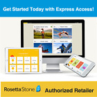 Rosetta Stone 1 Year with Unlimited Languages + Homeschool Upgrades & DICTIONARY