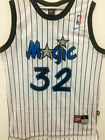 #32 Shaq Shaquille O'Neal Orlando Magic Throwback WHITE Men's Jersey on eBay