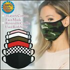 Kyпить Face Mask 3 Pack Cotton Washable Reusable Filtered Mens Womens Kids Fashionable  на еВаy.соm