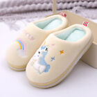 Women Men Kids Winter Slippers Cartoon Shoes Family Shoes Warm House Slippers