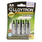 Lloytron AA & AAA Rechargeable Batteries HR03 HR6 NiMH 1.2V Phone Camera