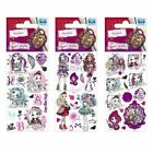 5 x High Quality Sticker Sheets Various Licensed Characters Party Bag Stickers