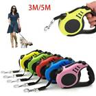 3M 5M Pet Dog Automatic Retractable Traction Rope Walking Lead Leash 16FT 10FT
