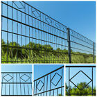 Home Deluxe Double Rod Matt Fence Industrial Fence Grid