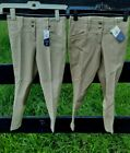 NWT ARIAT BRITTANY Girls Size 6 8 Front Zip Horse Riding Breeches Pants