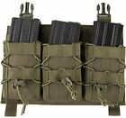 Click-in Hook & Loop Attach 223 308 Rifle Magazine Triple Pouch Placard
