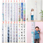 Growth Height Chart Measure Ruler Children Room Decor Wall Hanging Wooden Kids