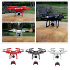 WIFI FPV 4K/2MP HD Camera Real-time Transmission RC Quadcopter Drone Easy to Fly