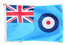 Royal Air Force RAF Flag With Rope and Toggle - Various Sizes