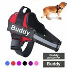 Personalized Dog Harness NO PULL Reflective Breathable Adjustable Pet Harness