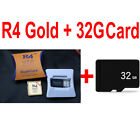 R4 Gold Pro R4i Revolution 2020 (Optional sd card with 500 nds games) USA Seller
