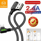 MCDODO L shape USB gamining Cable Charger Cord iPhone 11 Pro Max 7 8 Plus XR XS